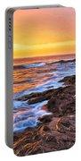 Sunset Shore Break Portable Battery Charger