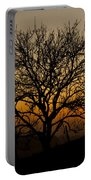 Sunset Tree Portable Battery Charger by Anne Gilbert