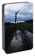 Sunset Treeflection Portable Battery Charger