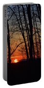 Sunset Trees Portable Battery Charger