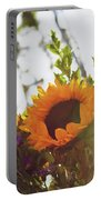 Sunshine And Sunflowers Portable Battery Charger