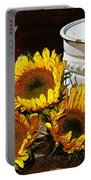Sunshine From The Garden Portable Battery Charger
