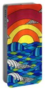 Sunshine Through My Window Portable Battery Charger by Susan Claire