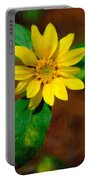 Sunshine Yellow Portable Battery Charger