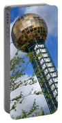 Sunsphere 1982 World Fair Portable Battery Charger
