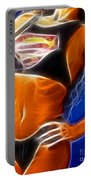 Superman 1 Fractal Portable Battery Charger by Gary Gingrich Galleries