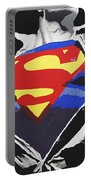 Superman Portable Battery Charger by Erik Pinto