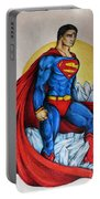 Superman Lives On Portable Battery Charger