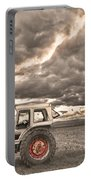Superman Sepia Skies Portable Battery Charger