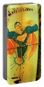Superman Surfboard Portable Battery Charger