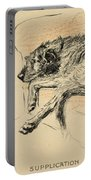 Supplication Portable Battery Charger by Cecil Charles Windsor Aldin