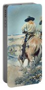 Supply Wagons Portable Battery Charger by Newell Convers Wyeth