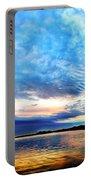 Sureal Pewaukee Lake Sunrise Portable Battery Charger