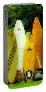 Surfboard Fence Hawaii 1 Portable Battery Charger
