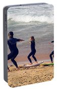 Surfing Lesson Portable Battery Charger