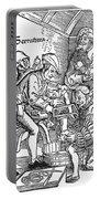 Surgeon Performing An Amputation. Woodcut From An Edition Of Hans Von Gersdoffs Feldtbuch Der Wundartzney, Strassburg, 1540 Portable Battery Charger