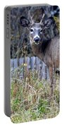 Surprised Deer Portable Battery Charger