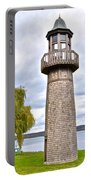 Surreal Lighthouse Portable Battery Charger