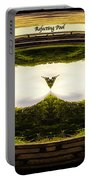 Surreal Reflecting Pool Portable Battery Charger