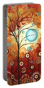 Surrounded By Love By Madart Portable Battery Charger