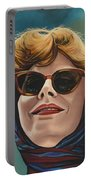 Susan Sarandon And Geena Davies Alias Thelma And Louise Portable Battery Charger