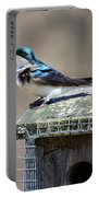 Swallow In The Wind Portable Battery Charger