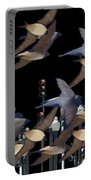 Swallows In The City Portable Battery Charger