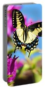 Swallowtail In Flight Portable Battery Charger