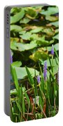 Swamp Flowers  Portable Battery Charger