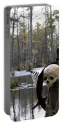 Swamp Pirate Portable Battery Charger by Karen Wiles