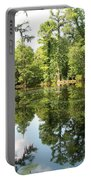 Swampland Reflection At The Plantation Portable Battery Charger