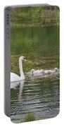 Swan Family Squared Portable Battery Charger