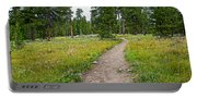 Swan Lake Trail In Grand Teton National Park-wyoming Portable Battery Charger