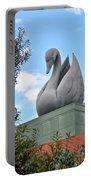 Swan Resort Statue Walt Disney World Portable Battery Charger