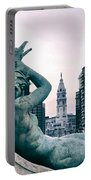 Swann Fountain Statue Portable Battery Charger