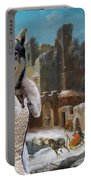 Swedish Elkhound - Jamthund Art Canvas Print  Portable Battery Charger