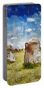 Swedish Standing Stones Portable Battery Charger