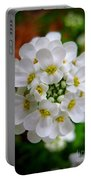 Sweet Alyssum Portable Battery Charger