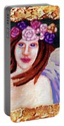 Sweet Angel Portable Battery Charger by Genevieve Esson