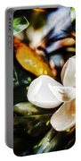 Sweet Magnolia Blossom Portable Battery Charger