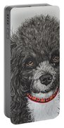 Sweet Miss Molly The Poodle Portable Battery Charger