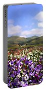 Sweet Peas Galore Portable Battery Charger