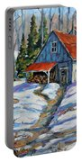Sweet Sugar Shack By Prankearts Portable Battery Charger
