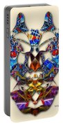 Sweet Symmetry - Flu Bugs Portable Battery Charger
