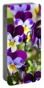 Sweet Viola Portable Battery Charger