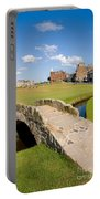 Swilcan Bridge On The 18th Hole At St Andrews Old Golf Course Scotland Portable Battery Charger by Unknown