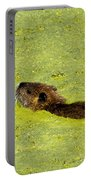 Swimming In Pea Soup - Baby Muskrat Portable Battery Charger