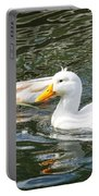 Swimming In The Pond Portable Battery Charger