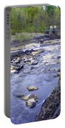 Swing Bridge Over The River Portable Battery Charger