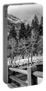 Swinging Bridge In Winter Portable Battery Charger